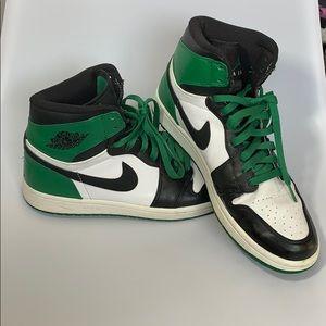 Nike Jordan 1 retro defining moments Celtics shoes